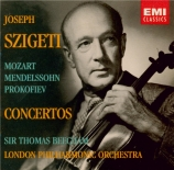 MOZART - Szigeti - Concerto pour violon et orchestre n°4 en ré majeur K