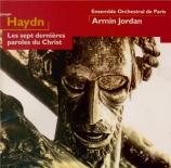 HAYDN - Jordan - Les sept dernières paroles du Christ sur la croix, vers