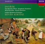 DVORAK - Kertesz - Variations symphoniques pour orchestre op.78 B.70