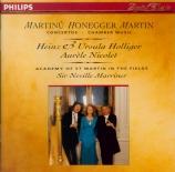 MARTIN - Holliger - Trois danses pour hautbois et harpe