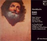 MENDELSSOHN-BARTHOLDY - Herreweghe - Elias, oratorio pour solistes et ch