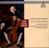 BOCCHERINI - Bylsma - Concerto pour violoncelle et orchestre n°8 en do m
