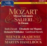 MOZART - Haselböck - Messe en ut mineur, pour solistes, chœur et orchest