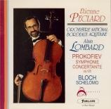 PROKOFIEV - Lombard - Symphonie concertante pour violoncelle et orchestr