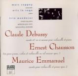 DEBUSSY - Coppey - Sonate pour violoncelle et piano en ré mineur L.135