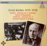 SCHUBERT - Kleiber - Symphonie n°8 en si mineur D.759 'Inachevée'