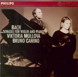 BACH - Mullova - Sonate pour violon et clavier n°1 en si mineur BWV.1014