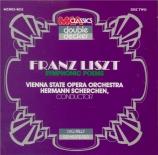 LISZT - Scherchen - Six rhapsodies hongroises, pour orchestre S.359