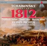 TCHAIKOVSKY - Mehta - Ouverture '1812' op.49