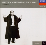 Shura Cherkassky Live Vol. 3 - Encores