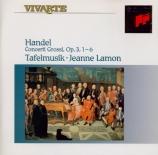 HAENDEL - Lamon - Six concerti grossi op.3 HWV.312-317