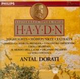 HAYDN - Dorati - Airs d'opéras