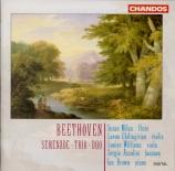 BEETHOVEN - Milan - Sérénade pour flûte, violon et alto op.25