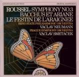 ROUSSEL - Smetacek - Symphonie n°3 op.42