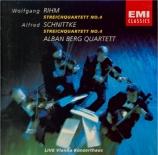RIHM - Alban Berg Quar - Quatuor à cordes n°4