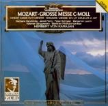 MOZART - Karajan - Messe en ut mineur, pour solistes, choeur et orchestre