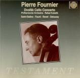 FAURE - Fournier - Berceuse pour violon et orchestre op.16