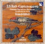 BACH - Gilbert - Prélude et fugue pour clavier en la mineur BWV.894