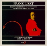 LISZT - Albrecht - Dante symphonie, pour orchestre S.109