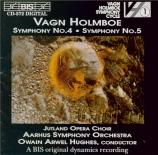 HOLMBOE - Hughes - Symphonie n°4 op.29 'Sinfonia sacra'
