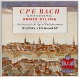 BACH - Bylsma - Concerto pour violoncelle et cordes en la majeur Wq.172