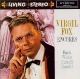 Encores (Bach, Widor, Purcell, Haendel...)