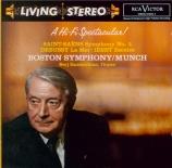SAINT-SAËNS - Munch - Symphonie n°3 'Avec orgue'