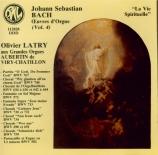 Oeuvres d'orgue sur le thème de 'La vie spirituelle' Grandes Orgues Aubertin de l'Eglise St Denis de Viry-Chatillon