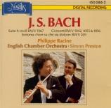 BACH - Preston - Suite pour orchestre n°2 BWV 1067