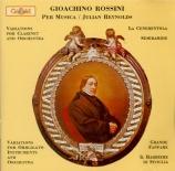 ROSSINI - Reynolds - La cenerentola : ouverture