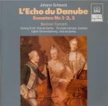 SCHENCK - Berliner Conzer - Echo du Danube : sonate n°2