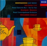 CHOSTAKOVITCH - Chailly - Suite pour orchestre de jazz n°1 op.38b