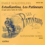 WALDTEUFEL - Sorel - Les patineurs op.183 (transcriptions pour piano) transcriptions pour piano