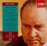 BRAHMS - Oistrakh - Concerto pour violon et orchestre en ré majeur op.77