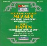 MOZART - Scherchen - Ave verum corpus, motet pour chœur, cordes et orgue