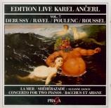DEBUSSY - Ancerl - La mer, trois esquisses symphoniques pour orchestre L