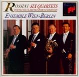 ROSSINI - Ensemble Wien-B - Quatuors avec flûte