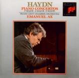 HAYDN - Ax - Concerto pour clavier et orchestre en fa majeur Hob.XVIII:3