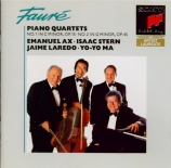 FAURE - Ax - Quatuor avec piano n°1 en ut mineur op.15