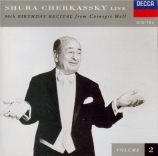 80th Birthday Recital from Carnegie Hall