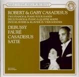 DEBUSSY - Casadesus - Petite suite, pour piano (quatre mains) L.65
