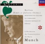 BERLIOZ - Munch - Benvenuto Cellini : ouverture