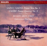 SAINT-SAËNS - Beaux Arts Trio - Trio avec piano n°1 op.18