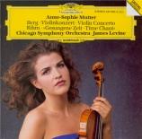 """BERG - Mutter - Concerto pour violon 'Dem Andenken eines Engels"""" (A la m"""