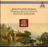 RAMEAU - Leonhardt - Pièces de clavecin en concerts (1741)
