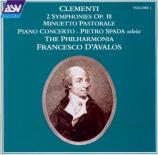 CLEMENTI - D'Avalos - Symphonies op.18 (2)