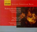 BACH - Rilling - Oratorio de Noël(Weihnachts-Oratorium), pour solistes