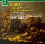 FAURE - Jordan - Pelléas et Mélisande, musique de scène pour orchestre o