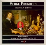 PROKOFIEV - Richter - Sonate pour piano n°2 en ré mineur op.14