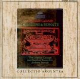 Canzoni et sonate tirées de 'Sacrae symphoniae'.